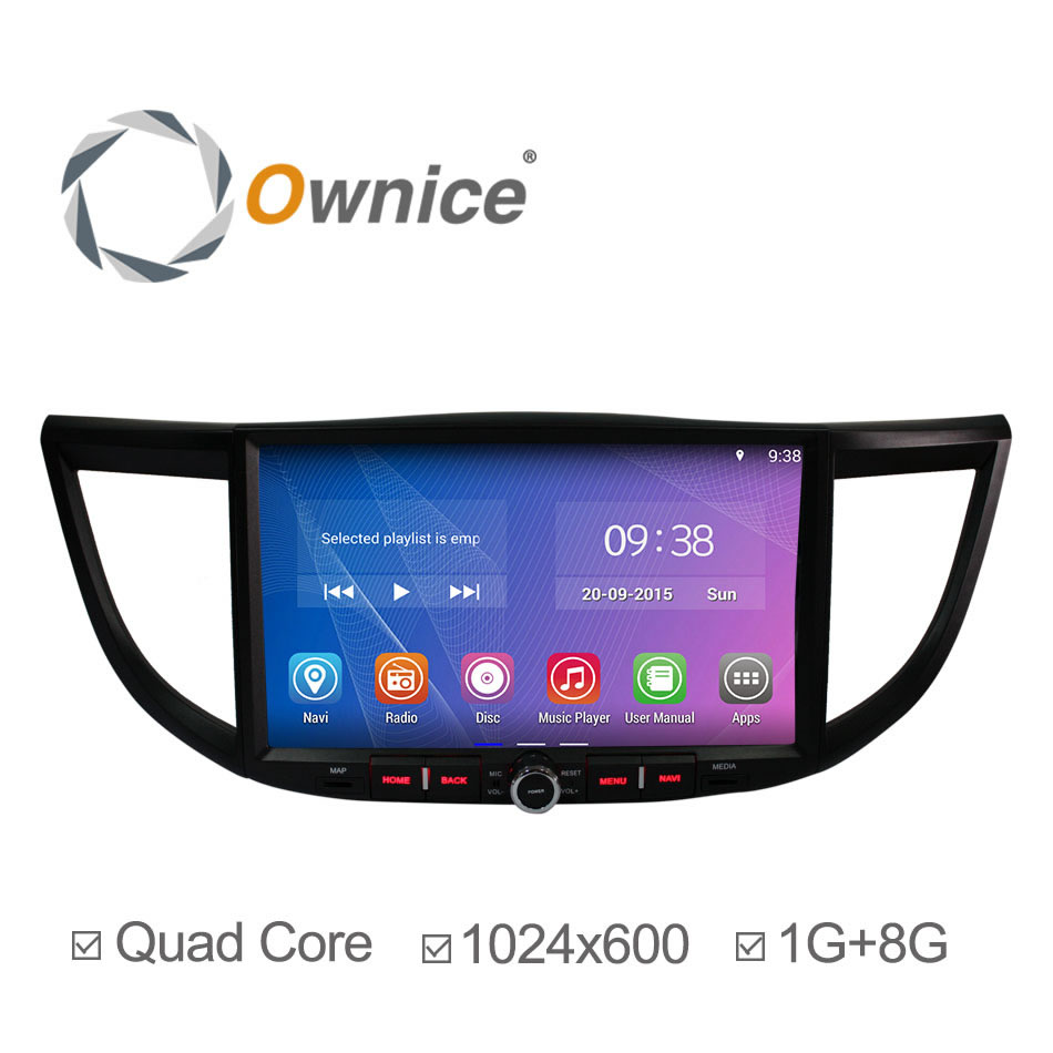 """Free Shipping 10.2"""" HD 2015 Quad Core 100% Pure Android 4.4.2 Car Video Player For Honda for Crv Gps Navi Stereo Radio Car Pc(China (Mainland))"""