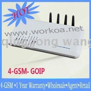 wholesale agent  4GOIP  4-sim GSM gateway DBL Four Channels GSM VoIP Gateway (GOIP_4)