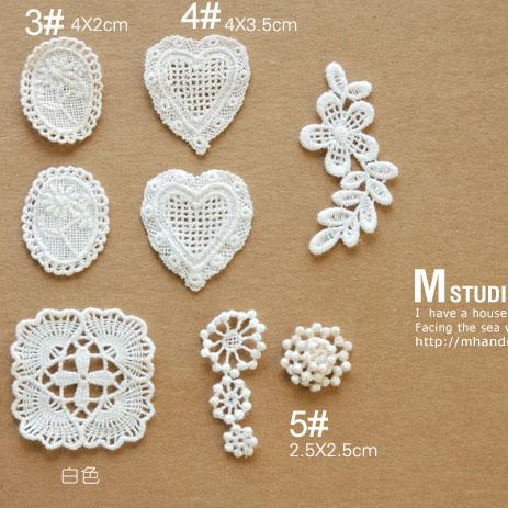Zakka 100% cotton lace motif fresh hand for series z10(China (Mainland))