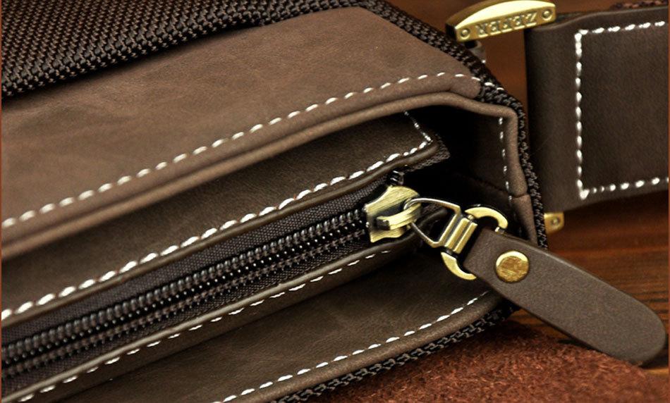 Мужская сумка досуг натуральный проветривайте холст мужские кроссбоди сумки свободного покроя оксфорд мужчины сумка через плечо лето AZ019