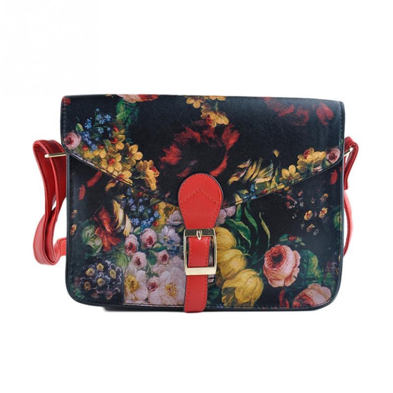 Latest punk oil painting Women Messenger Bags clutch rivet day clutch bag envelope shoulder bag cross-body women's handbag(China (Mainland))
