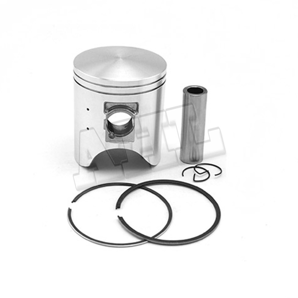 Motorcycle Engine parts 50 Cylinder Bore Size 66 50mm pistons rings Kit For Honda CRM250 CRM