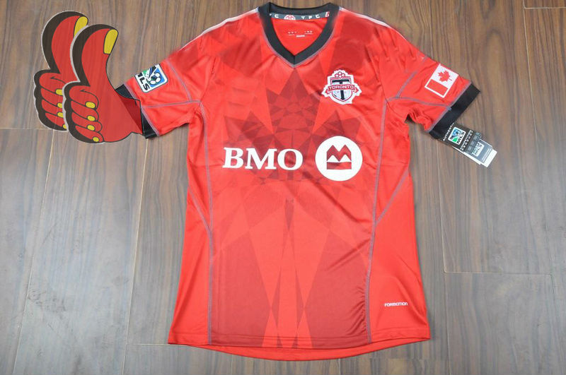 A+++ Top Thailand Soccer Equipment 13/14 Toronto Canada Soccer Jersey Toronto Football Kits Thai Quality