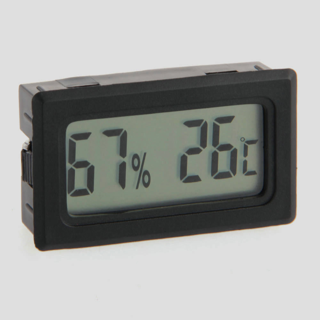 Hot Sale Digital Temperature Thermometer Hygrometer Humidity Meter Vivarium Tank Reptile Supplies Free Shipping(China (Mainland))