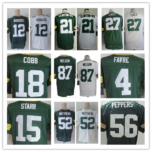 Free shipping Packers # 12 Aaron Rodgers Jersey, Green Bay Elite Jerseys American Football Jersey Embroidery Logos Sports Jersey(China (Mainland))