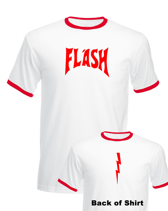 Flash Gordon T-Shirt BNWT STAG Fancy Dress Queen Freddie Mercury Retro 80s S-XXL(China (Mainland))