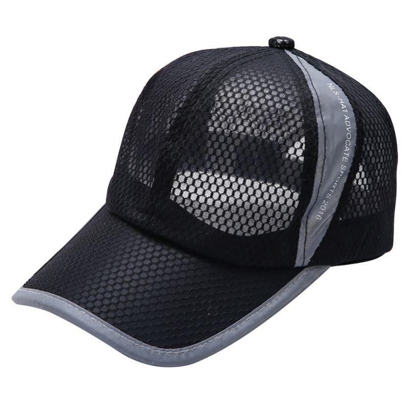 Unisex Fashion Cap Men Women Adjustable Baseball Cap Breathable Mesh Caps Snapback Hats Summer Hat(China (Mainland))