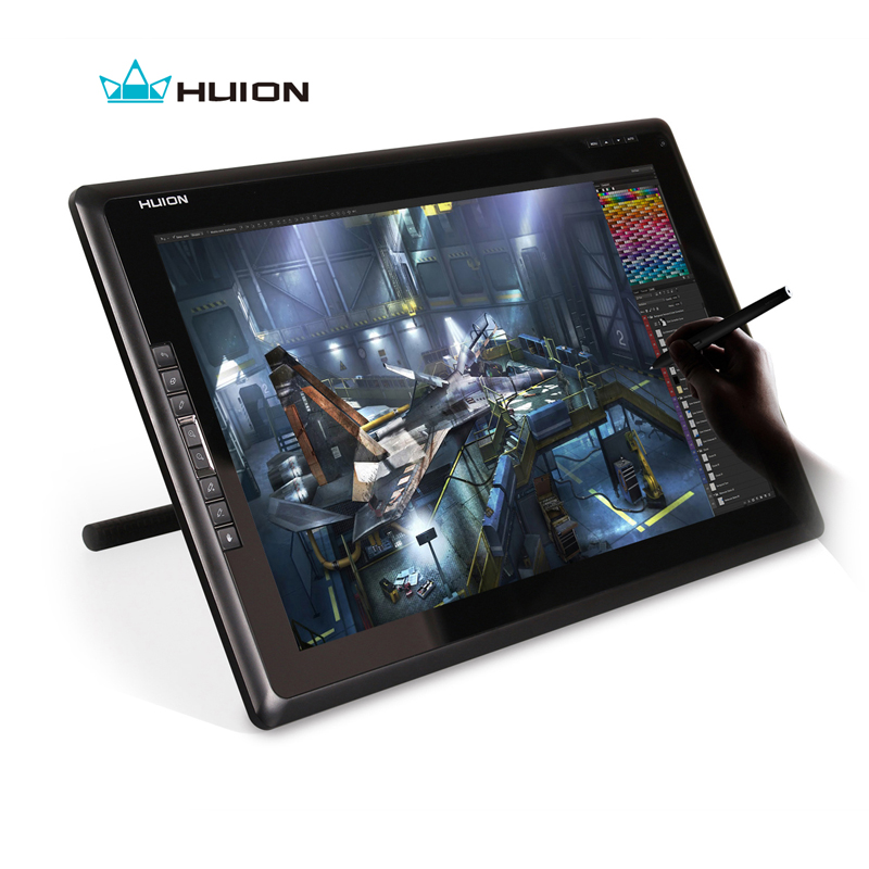 Huion New GT-185 Interactive Pen Display Drawing Monitor Digital Monitor Touch Screen Monitor Graphics Tablet Monitor With Gift(China (Mainland))