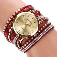 77 Fashion 15 Colors Summer Style Luxury Casual Geneva Wristwatch Watch Women Gold Bracelet Dress Watch