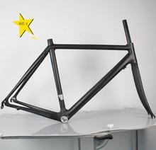 Bike parts Full Carbon Road Frame Particularly Light 845g 700C Size 54cm BB68 Fork Included UD Matte FinishFactory Outlets