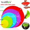 universal Silicone Suction Lid frying pan cooking pot lid silicone cover kitchen pan spill lid stopper