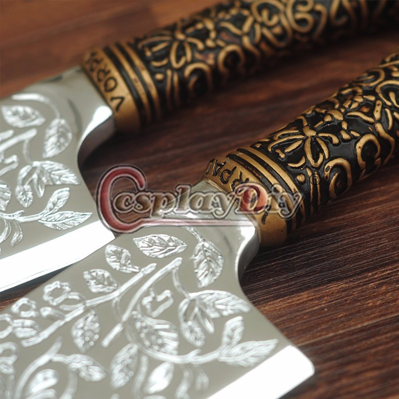 Buy Alice Madness Returns Cosplay Alice Knife Weapon Cosplay Accessories For Halloween Carnival Party Props 1 piece cheap