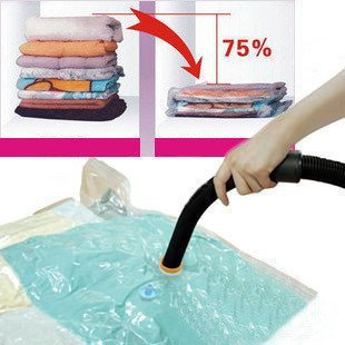 Wardrobe decultter. Space suit bag 4 size NO wall hanger hook home Vacuum vacuum-seal Storage Hanging bags(China (Mainland))