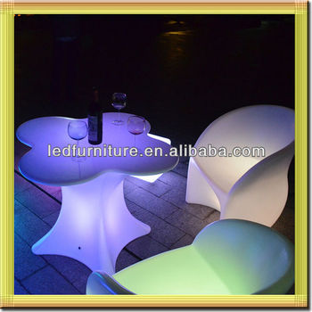 led light bar table/led night club table/ led poker table