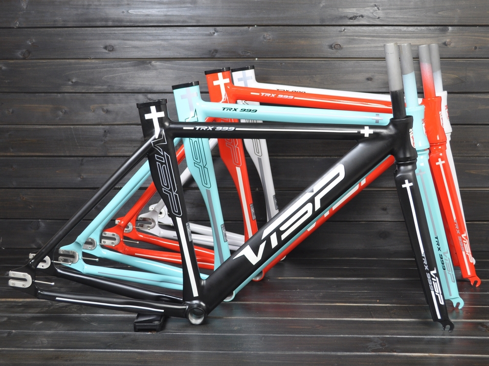 visp frame TRx999 /bicycle frame fixed gear frame and fork 700c*48/51/54/58/61(China (Mainland))
