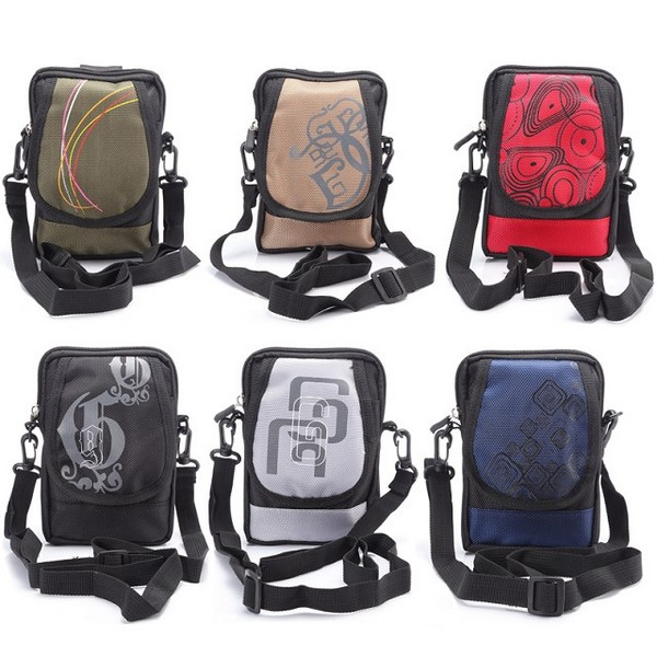 4.0-6.3 Inch Cell Phone Portable Pouch Clip Climb Pouch Shoulder Strap Bag Case(China (Mainland))