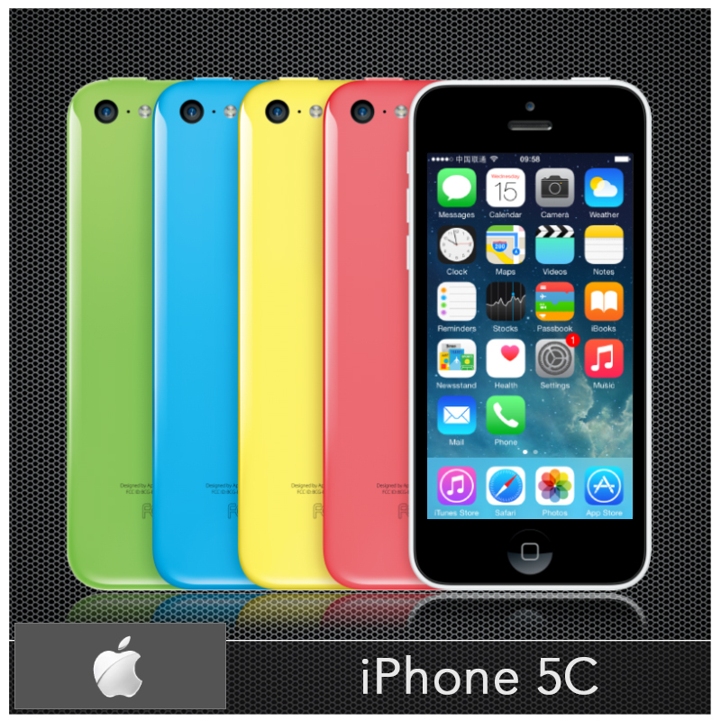 "Original Unlocked Apple iPhone 5C Cell phones 16GB 32GB Dual Core WCDMA+WiFi+GPS 8MP Camera 4.0"" Mobile Phone Smartphone(China (Mainland))"