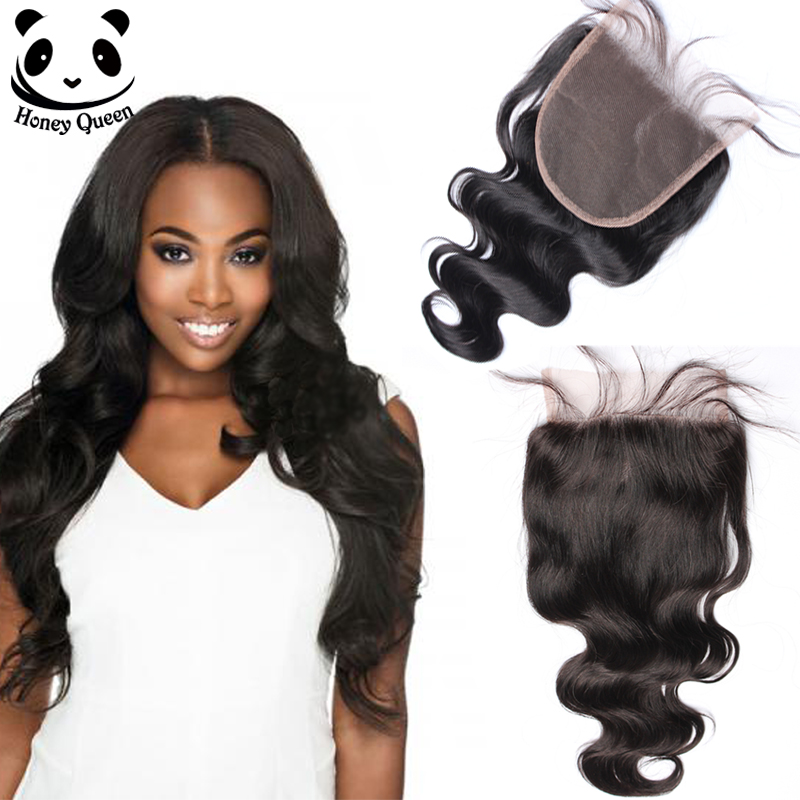 5x5 Lace Closure Peruvian Virgin Hair Body Wave Closure 6A Human Hair Closure Peruvian Lace Closure Queen Hair Products