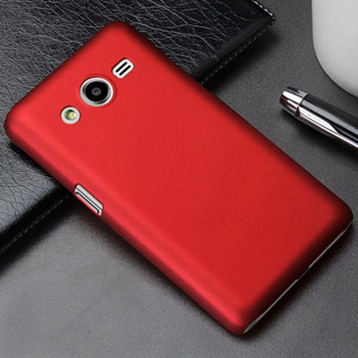 New Arrival 1PC Frosted Matte PC Hard Rubber Cover Case For Samsung Galaxy Core 2 Core2 Matte Case Free Shipping(China (Mainland))