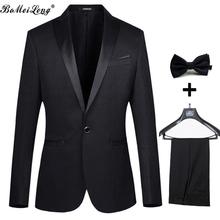Formal Men Business Dress Suits 2015 Wedding Suits For Men Fashion Jacquard Men Suits With Pants Men Groom Jacket+Pant+Tie