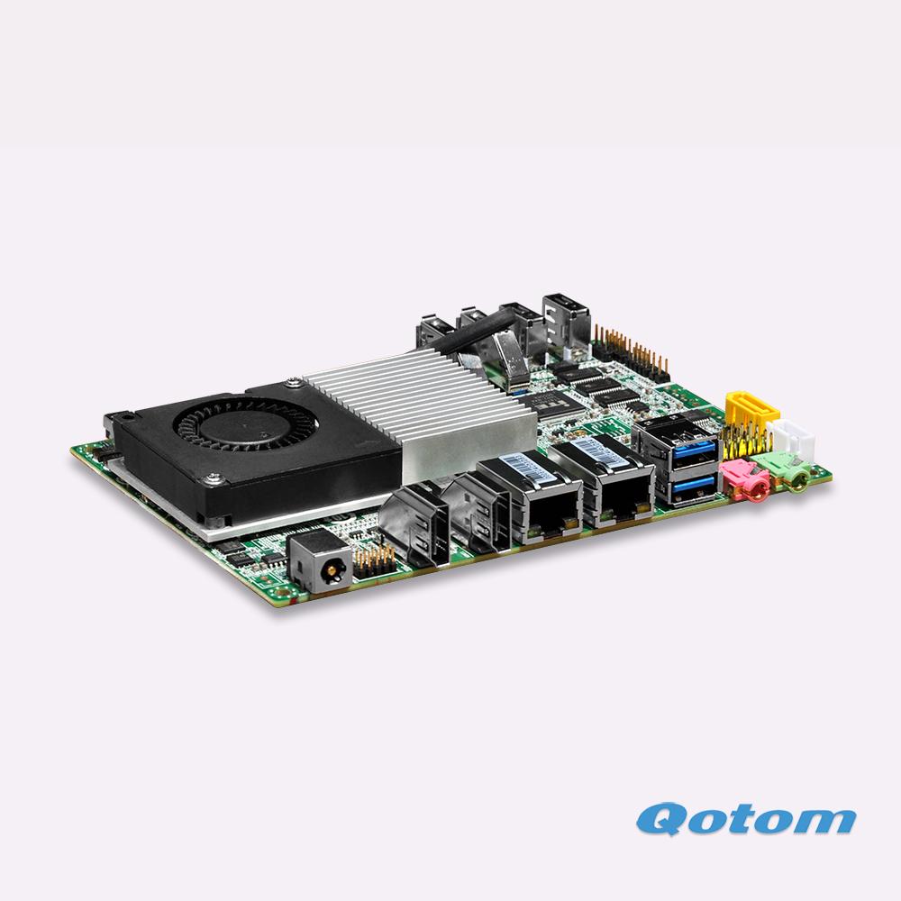 New arrival,Latest celeron 3215U Dual core 1.7G Fanless 1080P Support 6 Com port itx mini motherboard(China (Mainland))