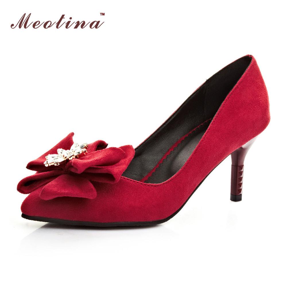 Red Stiletto High Heels