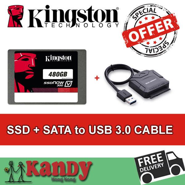 Kingston ssd 500GB hdd 480gb + SATA to usb 3.0 hhd external hard flash drive externo notebook computer portable solid state disk(China (Mainland))