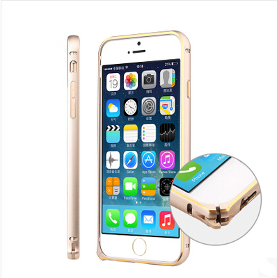 Luxury Ultra thin Metal Aluminum Frame Bumper Case Apple iphone 6 4.7 inch plus 5.5 Slim Shockproof Protect Cases - SZ store