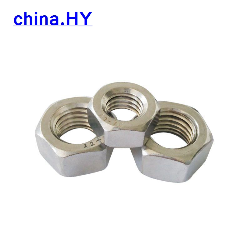 free shipping 304Stainless steel nuts Hexagonal nuts M30  Hexagon stainless steel nuts 2pcs<br><br>Aliexpress