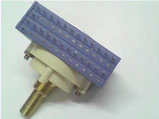 1 PCS rotating band switch double knife light 12 file handle shaft 19.5 MM long(China (Mainland))