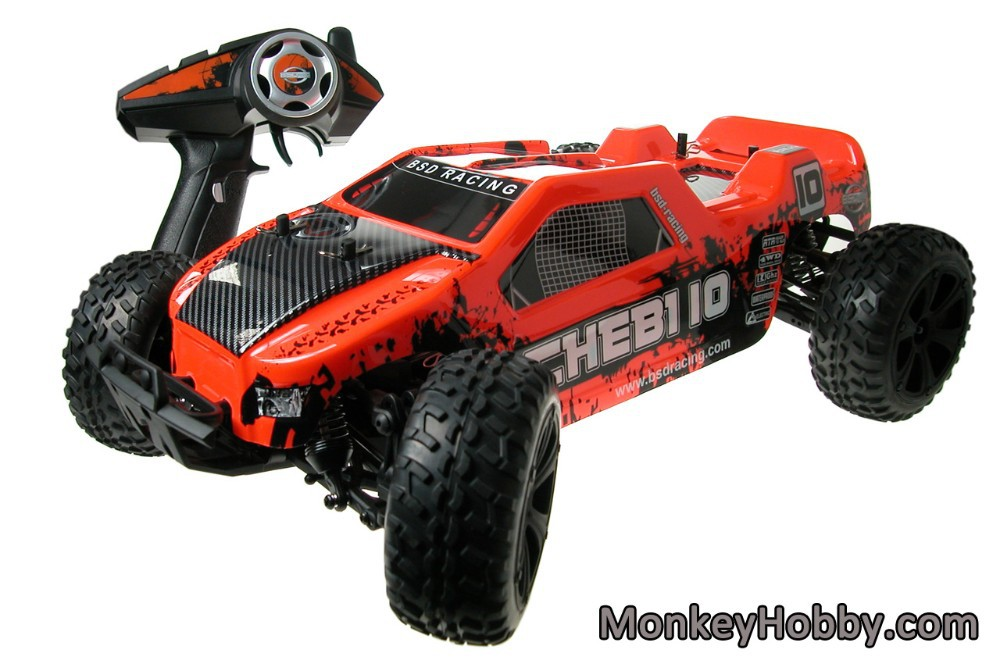 2015 New Version BSD BS214T 1/10 Brushed RC Truck RTR