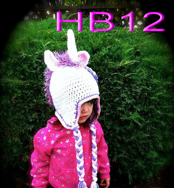 Crochet Unicorn Outfit : shipping,60piece/lot Costume Cosplay Crochet unicorn Hat baby crochet ...