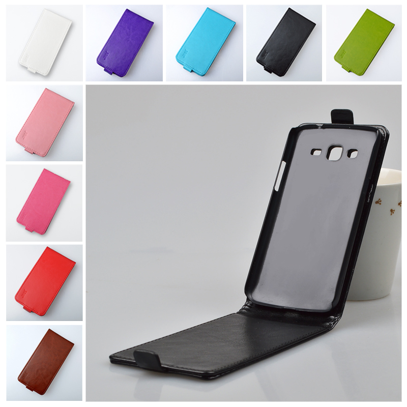 Flip PU Leather hard Case For Samsung Galaxy Grand 2 Duos G7100 G7105 G7106 SM-G7102 G7102 Cover Vertical Magnetic Phone Bag(China (Mainland))