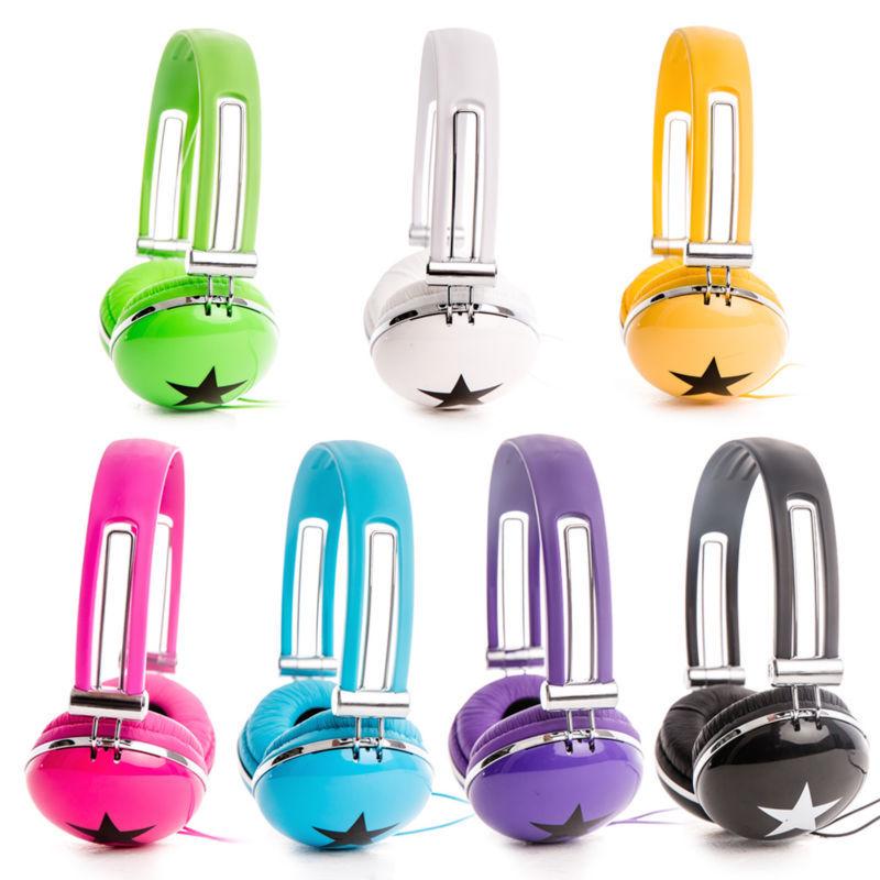 7 Colors Rockpapa Over head DJ Style Boys Girls font b Kids b font Children Teens