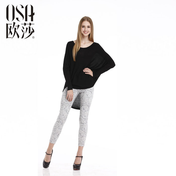 OSA Promotion! Women's Autumn Fashion Long Sleeve O Neck Casual Sweaters Knit Pullovers Knitwear SH429005(China (Mainland))