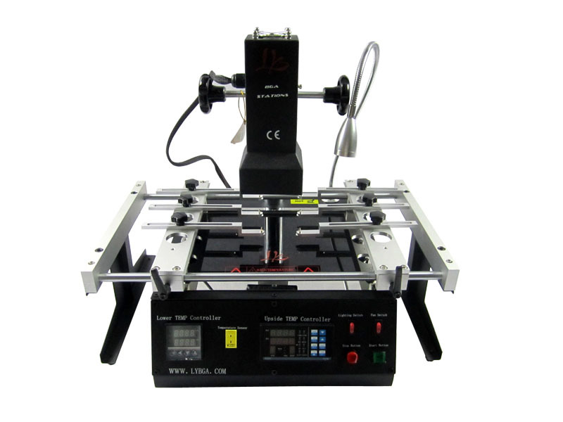 free shipping LY IR6500 V.2 infrared soldering station,motherboard bga rework machine,with pcb jig.smd repair machine(China (Mainland))