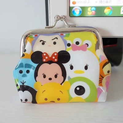 TSUM Wallet Bag Mini Cartoon Coin Purses Minnie Mickey Bags Girls Gifts Collection Brinquedos - 20144you store