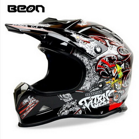 Netherlands BEON Motorcross motorcycle helmet  Electric bicycle off road  motorbike helmets made of ABS Mixed colors size M L XL