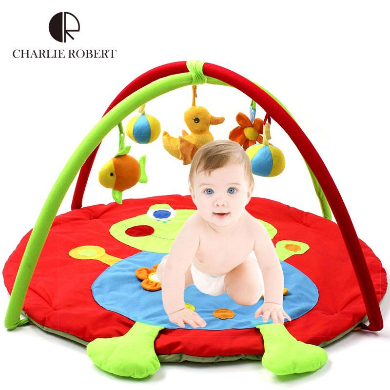 0-12 Months Baby Toy Baby Play Mat Game Tapete Infantil Prince Frog Educational Crawling Mat Play Gym Kids Blanket Carpet HK873(China (Mainland))