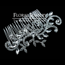 New 2014 Leaf Crystal Imitation Gemstone Bridal Hair Combs Hairpin Wedding Hair Accessories Hair Jewelry FS001