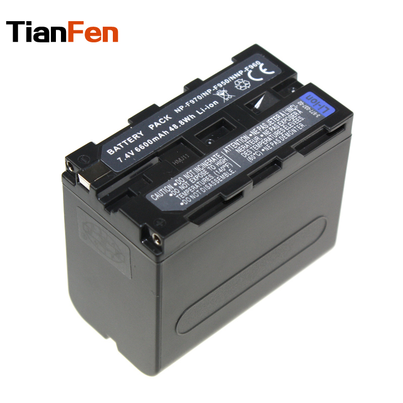 TianFen 1pcs Battery NP-F960 F950 F970 Rechargeable Camera Battery For Sony Camera<br><br>Aliexpress