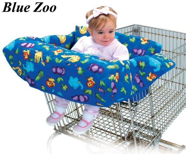 Best Selling--Baby shopping cart cover/grocery/trolley cart cover/shopping trolley seat cover/cushion/pad--3 Colors Available