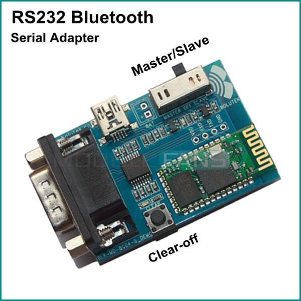 Serial port adapter at commands bluetooth