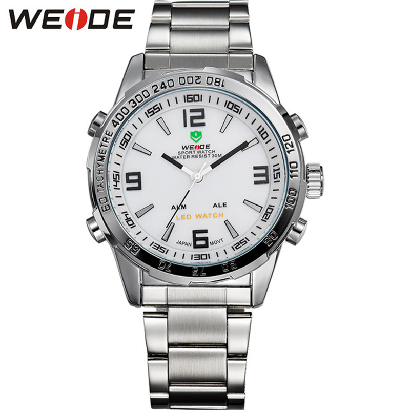Army Military Watches Mens Luxury Brand Watch Men High Quality Sport Casual Quartz Waterproof Men Wristwatch WEIDE 2016 Relojes<br><br>Aliexpress