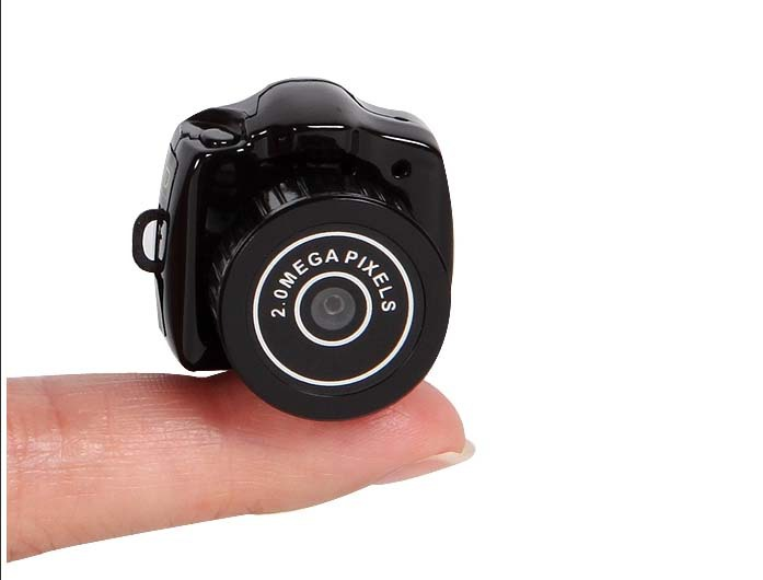 New Brand Mini Camcorders With Low Price/Smallest 720P HD Webcam Camera Video Recorder Camcorder DV DVR Y2000 Free Shipping(China (Mainland))