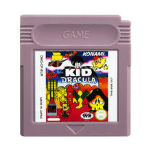 Kid Dracula English Single Game Cartridge Game Console Card for GB Color Handheld Game Player