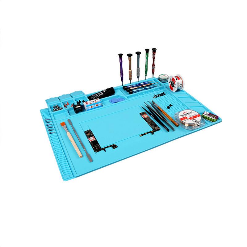 image for S-160 Magnetic Heat-resistant Soldering Mat Silicone Heat Gun BGA Sold