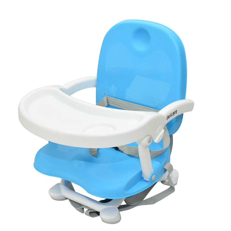 Multifunctional foldable dinette baby high chair portable removable anti skid baby feeding chair plastic children Booster Seats(China (Mainland))