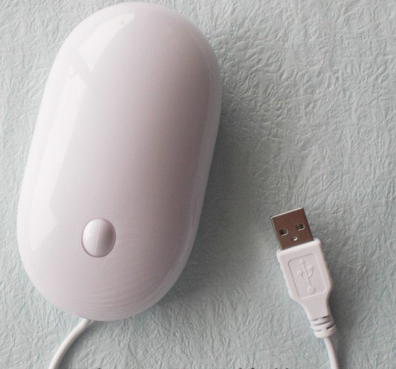 hot sale brand new  Cable mouse white mouse cute mouse notebook mouse