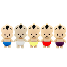 mini pen drive baby gift memoria usb 8gb 16gb 32gb 64gb keychain cartoon usb flash drive pendrive